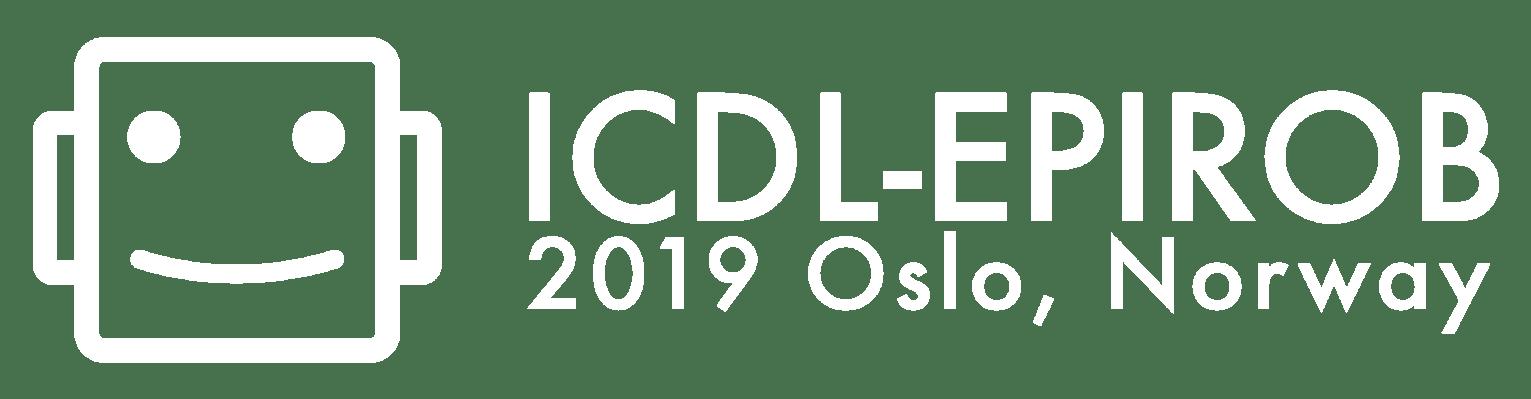ICDL-EPIROB 2019, Oslo Norway